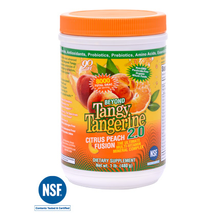 Beyond Tangy Tangerine 2.0 Citrus Peach Fusion - 480 g canister