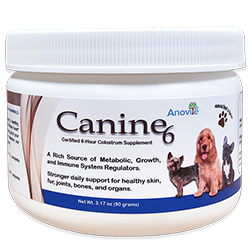 Canine6 Natural Beef and Bacon Flavored Colostrum - Small Breed