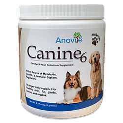 Canine6 Natural Beef and Bacon Flavored Colostrum