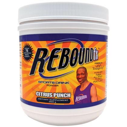 REBOUND FX CITRUS PUNCH POWDER <br/> (360G CANISTER)