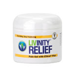 Livinity RELIEF Pain Gel - 4oz