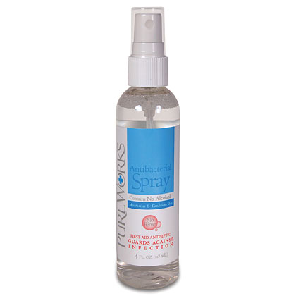 PUREWORKS ANTIBACTERIAL SKIN SPRAY <br/> (4 OZ)