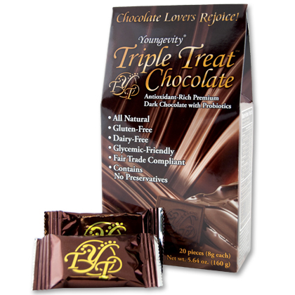 TRIPLE TREAT CHOCOLATE <br/> (20 COUNT BOX)