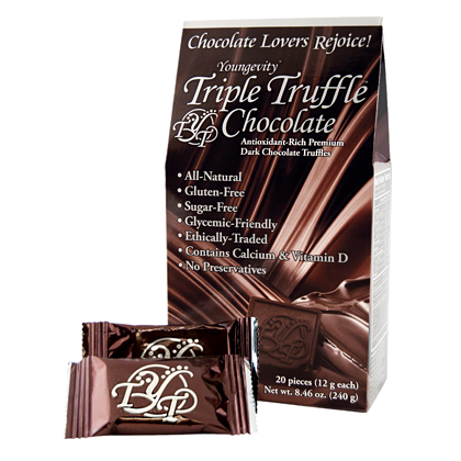 TRIPLE TRUFFLE CHOCOLATE <br/> (20 COUNT BOX)