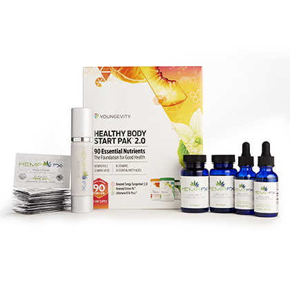HempFX<sup>&trade;</sup> Business Builder Kit (CEO Mega Pak)